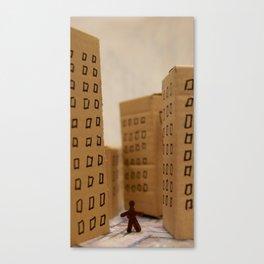 Urban life neurosis Canvas Print