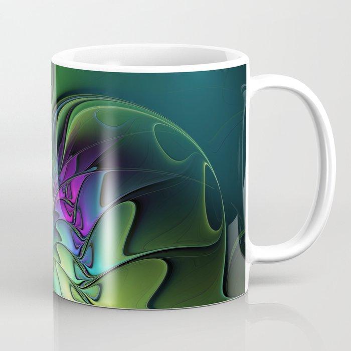 Colorful And Abstract Fractal Fantasy Coffee Mug