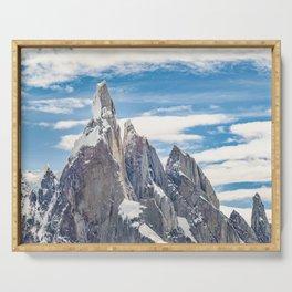 Cerro Torre. Parque Nacional Los Glaciares. Argentina Serving Tray