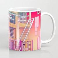 building Mugs featuring Building Clouds by FalcaoLucas