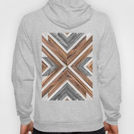 Urban Tribal Pattern No.4 - Wood Hoody