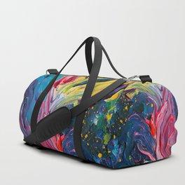 Bird Flower Duffle Bag