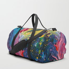 Bird Flower Duffle Bag