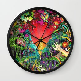 Eurydice in the Underworld (LSD) Wall Clock
