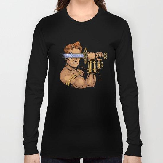 Late Night Barbarian Long Sleeve T-shirt