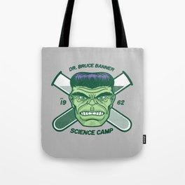 Dr. Banner Science Camp Tote Bag