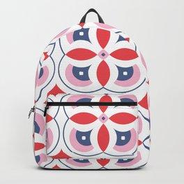 Vintage Tiles Pattern Backpack