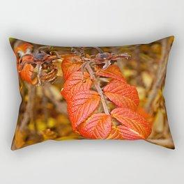 autumnal leaves Rectangular Pillow