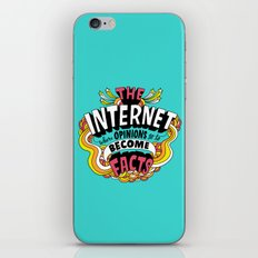 The Internet. iPhone & iPod Skin
