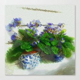 """""""Soothing Violets"""" Canvas Print"""