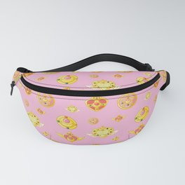 Moon Pink Power Fanny Pack