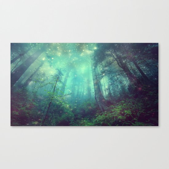 Enchanted Forest II Canvas Print