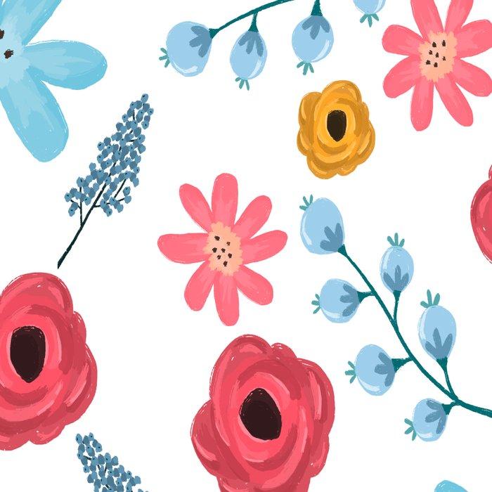 Colors Flowers 3 Leggings
