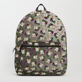 Bull Terrier - Day of the Dead Sugar Skull Dog Backpack