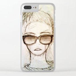 Hang On For Me Clear iPhone Case