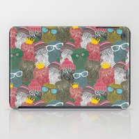 it crowd iPad Cases featuring The crowd. by panova