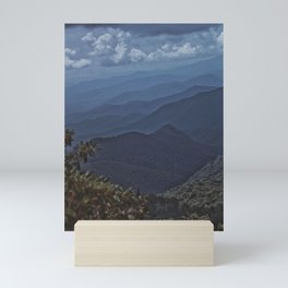 Mountain Layers Mini Art Print