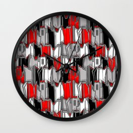 1960s classic fairy tails (tail fins) Wall Clock