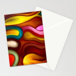 loops by rafi talby Stationery Cards