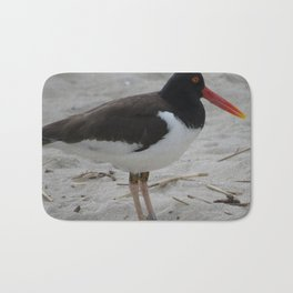 Oyster Catcher at Cape May Bath Mat