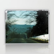 Amish Man Walking Home Laptop & iPad Skin