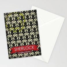 Sherlock Poster 1 Stationery Cards