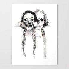 Flesh, Bone, and Braids Canvas Print