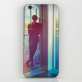 The man in front of water iPhone Skin