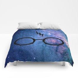 Cosmic Lightning Scar HP Comforters