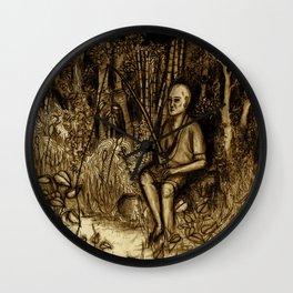 Mud Man Wall Clock