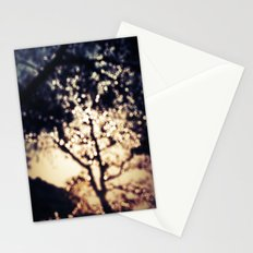 Glistening Tree Stationery Cards