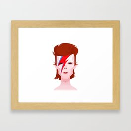 David music Framed Art Print