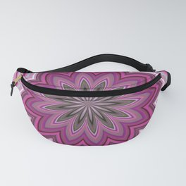 Abstract Pink Mandala Pattern Fanny Pack