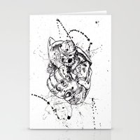 thanos Stationery Cards featuring Big Thanos by Caos Store