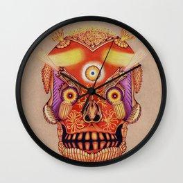 Holy Lumen Skull Wall Clock