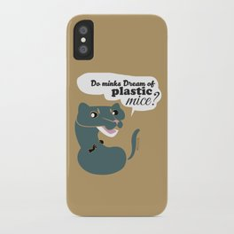 Do mink dreams... (c) 2017 iPhone Case