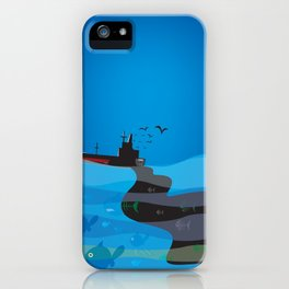 go humans! iPhone Case