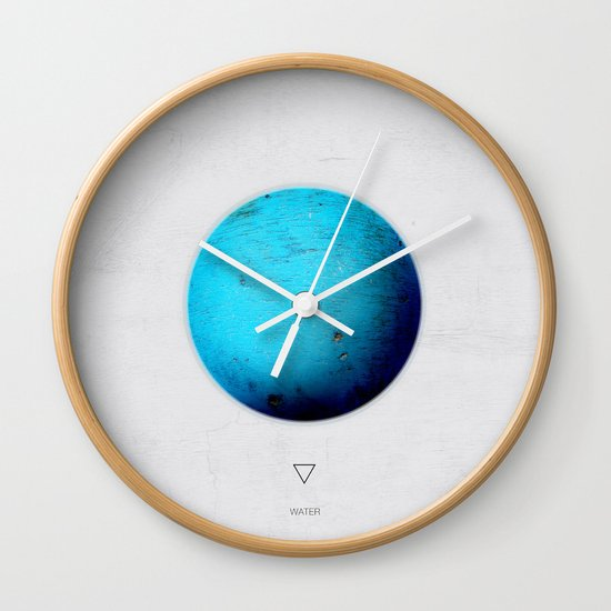 Element: Water Wall Clock