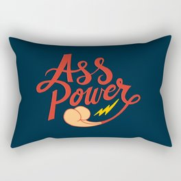 Ass Power Rectangular Pillow