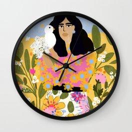 Jungle Freedom Wall Clock