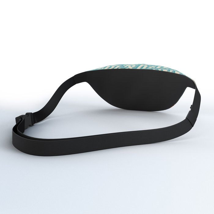 Crazy & lazy Summer Fanny Pack