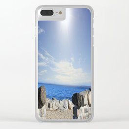 Beauty In The Distance Clear iPhone Case