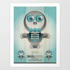Skul Bros Art Print