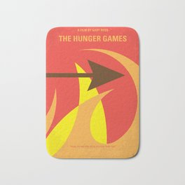 No175 My Games Hunger minimal movie poster 1 Bath Mat
