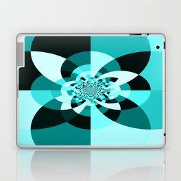 Aqua Kaleidscope Laptop & iPad Skin