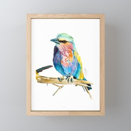 Bird Watercolour Painting Print by Bonnie Dixson, Art, Animal Art, Home Decor Framed Mini Art Print