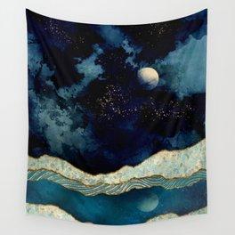 Indigo Sky Wall Tapestry