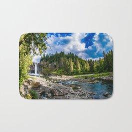 Snoqualmie Falls from Below Bath Mat