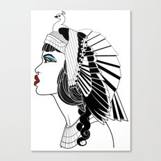 Queen of The Nile. Canvas Print