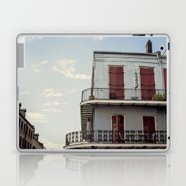 French Quarter Blues, No. 2 Laptop & iPad Skin